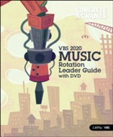 Concrete & Cranes: Music Rotation Leader Guide with DVD