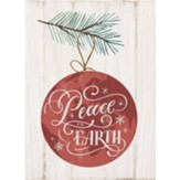 Peace on Earth Block Art