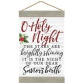 O Holy Night Hanging Banner