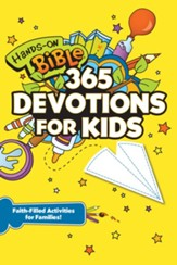 Hands-On Bible 365 Devotions for Kids: Faith-Filled Activities for Families - eBook