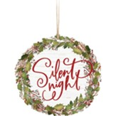 Silent Night, Holy Night, Wreath, Ornament