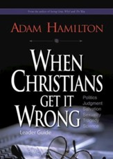 When Christians Get It Wrong Leader Guide - eBook