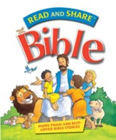 Read and Share Bible: Over 200 Best Loved Bible Stories - eBook