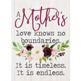 A Mother's Love Knows No Boundaries Block Art