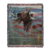 May Freedom Fly Throw