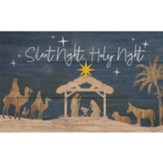 Silent Night, Holy Night Pallet Art