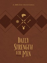 Daily Strength for Men: A 365-Day Devotional - eBook