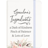 Grandma's Ingredients Notebook