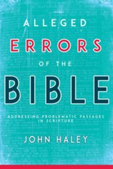 Alleged Errors of the Bible: Addressing Problematic Passages in Scripture / Abridged - eBook