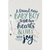 A Brand New Baby Boy Card Holder