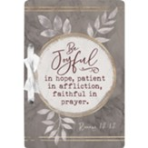 Be Joyful Card Holder