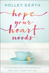 Hope Your Heart Needs: 52 Encouraging Reminders of How God Cares for You - eBook