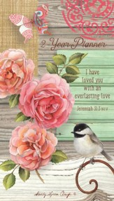 Everlasting Love, 2019-2020 Two-Year Pocket Planner