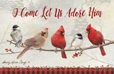 O Come Let Us Adore Him, 20 Count Christmas Boxed Cards #1