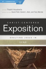 Exalting Jesus in Luke - eBook