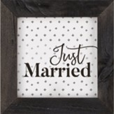 Just Married Framed Art