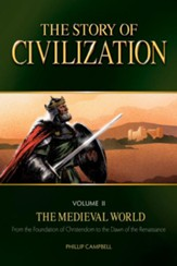 The Story of Civilization Vol II,  The Medieval World - Text eBook