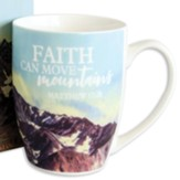 Faith Can Move Mountains, Mug In Gift Box