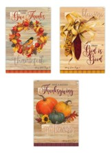 Give Thanks Boxed Card Assortment 12 cards