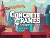 Concrete & Cranes: Notecards (pkg. of 10)