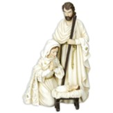 Elegant Holy Family Figurine