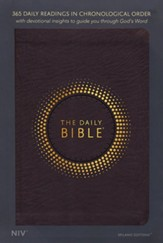 NIV The Daily Bible, Milano Softone