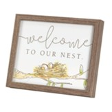 Welcome to Our Nest Framed Art