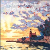 Light Shines on the Righteous, Lighthouse, Wall Plaque