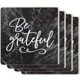 Be Grateful Coasters, Set of 4