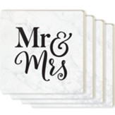 Mr. and Mrs. Coasters, Set of 4