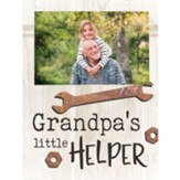 Grandpa's Little Helper Photo Frame