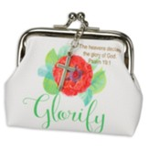 Glorify, Coin Purse With Kiss Lock