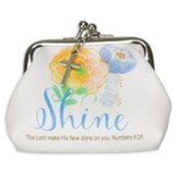 Shine, Coin Purse With Kiss Lock