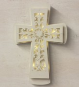 Decorative Lighted Wall Cross