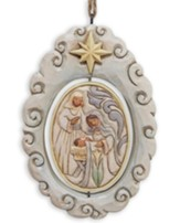 Woodland Nativity Spinner Ornament