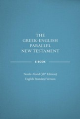 Greek-English Parallel New Testament ebook: NA28-ESV - eBook