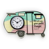 Straight Paths Camper Clock
