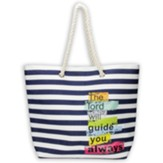 The Lord Will Guide You, Large Tote Bag