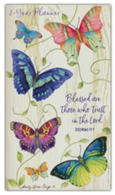 Blessed Are Those Who Trust (Jeremiah 17:7), 2021-22 Pocket  Planner