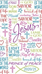 Names Of Jesus, 2021-22 Pocket Planner