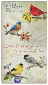 Let All You Do Be Done With Love, 2021-22 Two Year  Pocket Planner