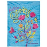 Hello Spring Flag, Small