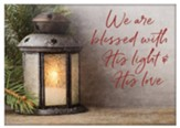 We Are Blessed With His Light And His Love 12 Christms Cards