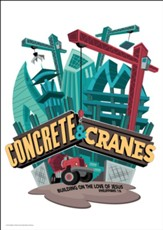 Concrete & Cranes: Wall Art (package of 9 sheets)