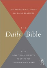 NLT Daily Bible, softcover