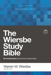 NKJV, Wiersbe Study Bible, Red  Letter Edition, Ebook: Be Transformed by the Power of God's Word - eBook