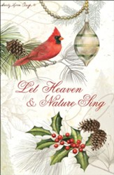 Let Heaven And Nature Sing  Box of 20 Christmas Cards