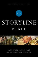 NIV, Storyline Bible, eBook: Each Story Plays a Part. See How They All Connect. - eBook