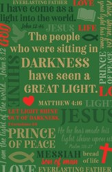 Jesus Is The Light Of The World Box of 20 Christmas Cards