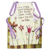Live Simply, Love Seriously Apron